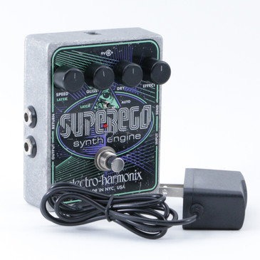 Electro-Harmonix SuperEgo Synth Engine  Guitar Effects Pedal P-08656