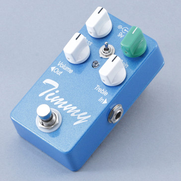 Paul Cochrane Timmy (Blue) Overdrive Guitar Effects Pedal P-08653