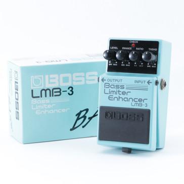 Boss LMB-3 Bass Limiter Enhancer Guitar Effects Pedal P-08651