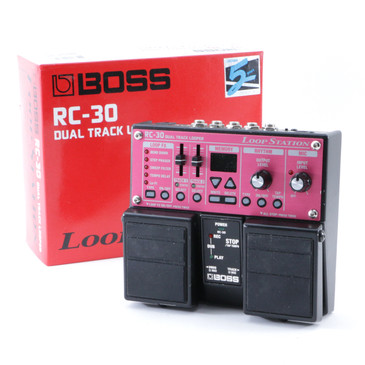 Boss RC-30 Loop Station Looper Guitar Effects Pedal P-08696