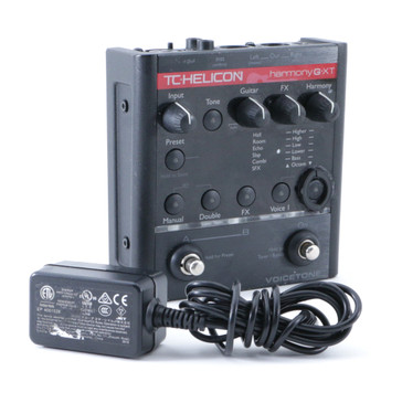 TC Helicon Harmony G XT Vocal Multi-Effects Pedal & Power Supply P-08695