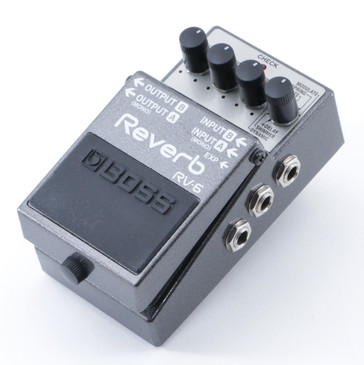 Boss RV-6 Reverb Guitar Effects Pedal P-08681