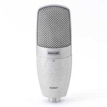 Shure KSM27 Condenser Cardioid Microphone MC-3734