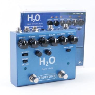 TrueTone V3 H2O Chorus & Echo Guitar Effects Pedal P-08720