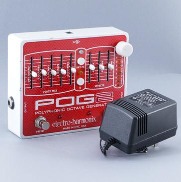 Electro-Harmonix Pog 2 Octave Generator Guitar Effects Pedal w/ PSA P-08747