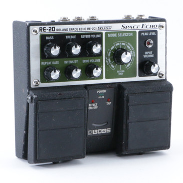 Boss RE-20 Space Echo Delay Guitar Effects Pedal P-08745