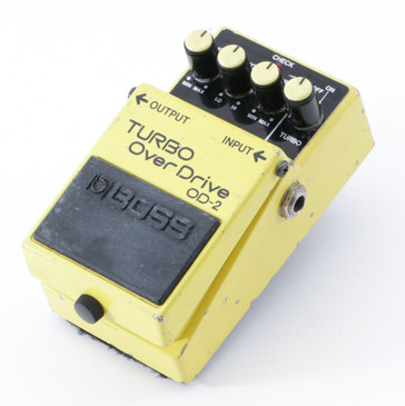 Boss OD-2 Turbo Overdrive Guitar Effects Pedal P-08760
