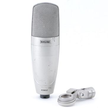 Shure KSM32 Condenser Cardioid Microphone MC-3765