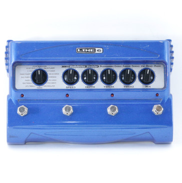 Line 6 MM4 Modulation Modeler Guitar Multi-Effects Pedal P-08807
