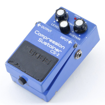 1986 Boss Japan CS-2 Compression / Sustainer  Guitar Effects Pedal P-08813