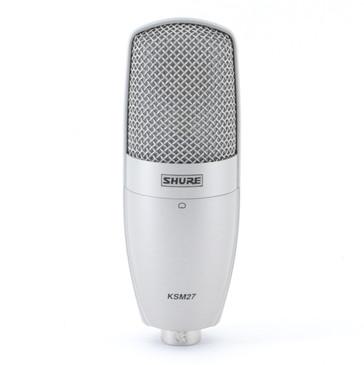 Shure KSM27 Condenser Cardioid Microphone MC-3777
