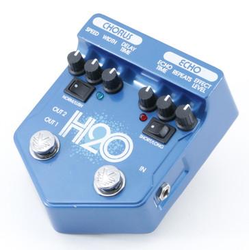 Visual Sound H2O Chorus & Echo Guitar Effects Pedal P-08835