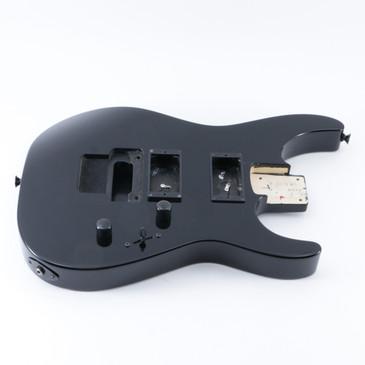 2009 Jackson Japan DXMG Black Basswood Guitar Body BD-5191
