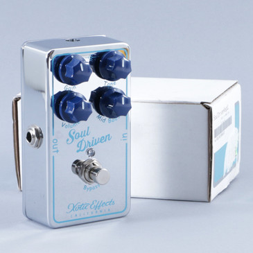 Xotic Effects Soul Driver Overdrive Guitar Effects Pedal P-08854