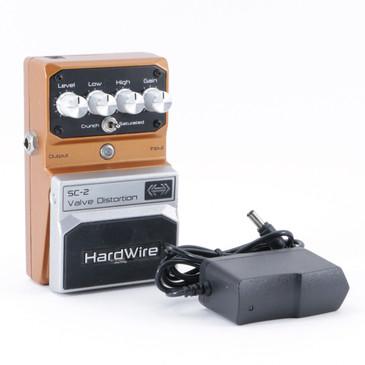 Digitech SC-2 Valve Distortion Guitar Effects Pedal & PSA P-08862