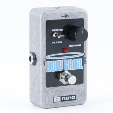 Electro-Harmonix Holy Grail Nano Reverb Guitar Effects Pedal P-08858