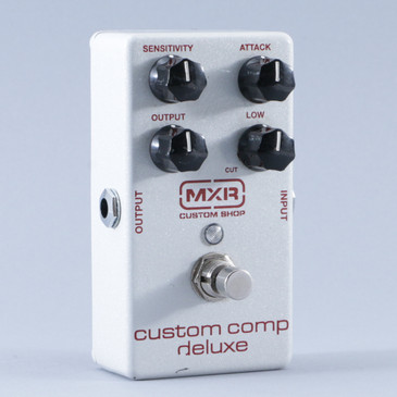 MXR Custom Comp Deluxe Compression Guitar Effects Pedal P-08853