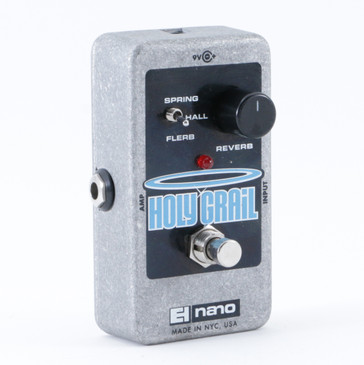 Electro-Harmonix Holy Grail Nano Reverb Guitar Effects Pedal P-08857