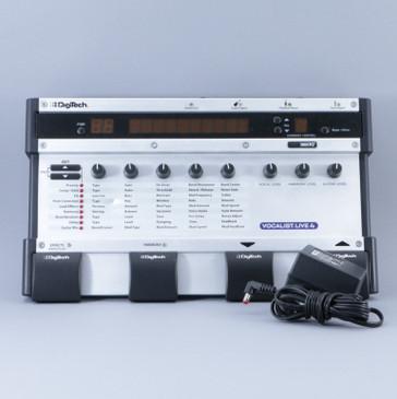 Digitech Vocalist Live 4 Vocal Multi-Effects Pedal & PSA P-08879