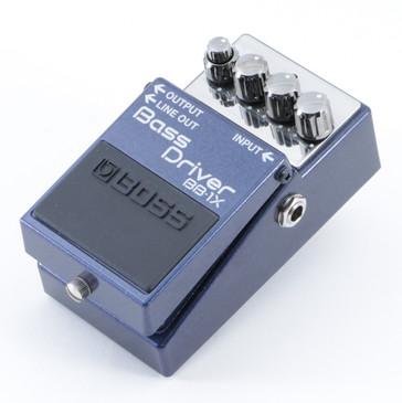 Boss BB-1X Bass Driver Overdrive Guitar Effects Pedal P-08844