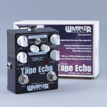 Wampler Faux Tape Echo Delay Guitar Effects Pedal P-08873