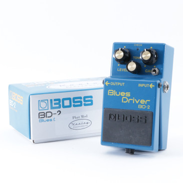 Keeley Boss BD-2 Blues Driver Overdrive Guitar Effects Pedal P-08860