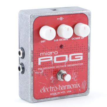 Electro-Harmonix Micro Pog Octave Generator Guitar Effects Pedal P-08864