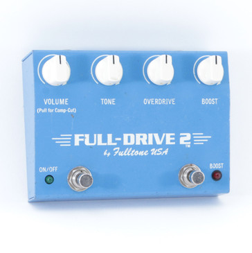 Fulltone Full-Drive 2 Overdrive Guitar Effects Pedal P-08868