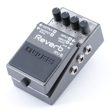 Boss RV-6 Reverb Guitar Effects Pedal P-08847