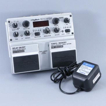 Digitech Time Bender Delay Guitar Effects Pedal w/ PSA P-08903
