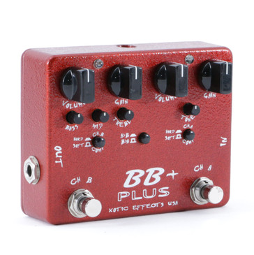 Xotic Effects BB Plus Overdrive Guitar Effects Pedal P-08896