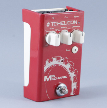 TC Helicon Mic Mechanic Vocal Multi-Effects Pedal P-08898