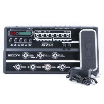 Zoom G7.1ut Guitar Multi-Effects Pedal & PSA P-08911