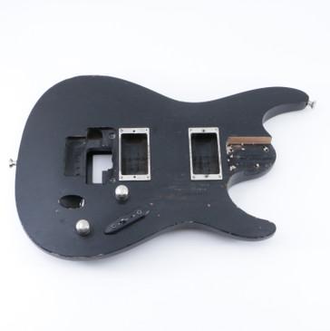 2007 Ibanez S320 Weathered Black Mahogany Guitar Body BD-5197