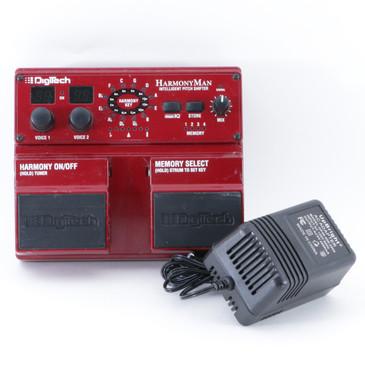 Digitech HarmonyMan Pitch Shifter Guitar Effects Pedal w/ PSA P-09012