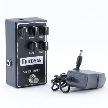 Friedman Sir-Compre Compression Guitar Effects Pedal w/ PSA P-09041