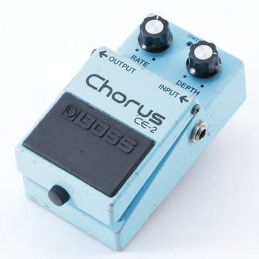 1983 Boss Japan CE-2 Chorus Guitar Effects Pedal P-09101