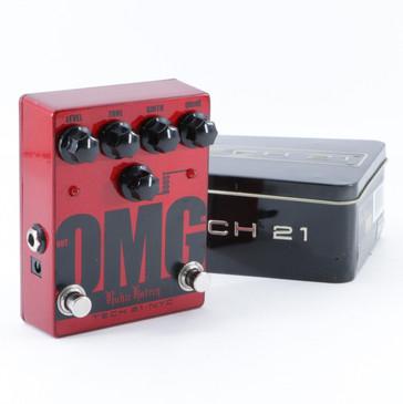 Tech 21 Ritchie Kotzen OMG Distortion Guitar Effects Pedal P-09108