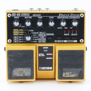 Boss OD-20 Overdrive / Distortion Guitar Effects Pedal P-09112