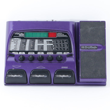 Digitech Vocal 300 Vocal Multi-Effects Pedal *No Power Supply* P-09164