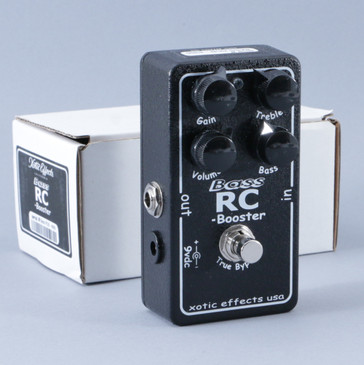 Xotic Effects Bass RC-Booster Boost / PreAmp Guitar Effects Pedal P-09148