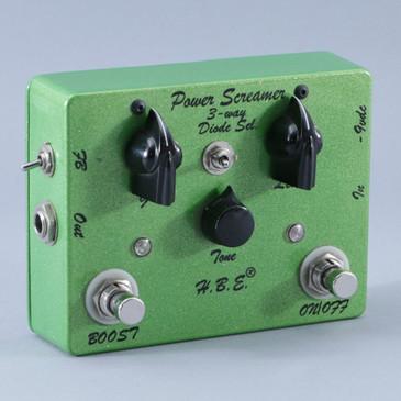 H.B.E. Power Screamer Overdrive Guitar Effects Pedal P-09147