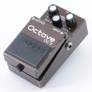 Boss OC-2 Octave Guitar Effects Pedal P-09125