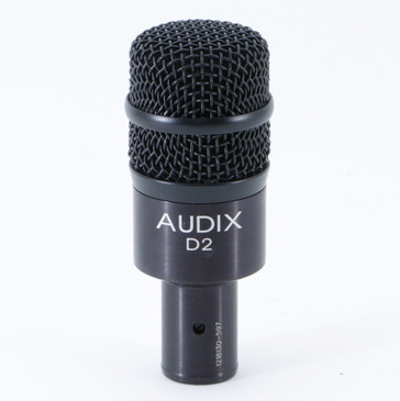Audix D2 Dynamic Hypercardioid Microphone MC-3869
