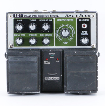 Boss RE-20 Space Echo Delay / Reverb Guitar Effects Pedal P-09198