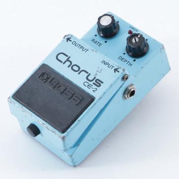 1985 Boss Japan CE-2 Chorus Guitar Effects Pedal P-09174
