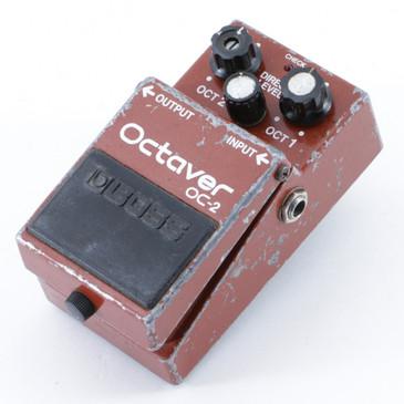 1982 Boss Japan OC-2 Octaver Octave Guitar Effects Pedal P-09173