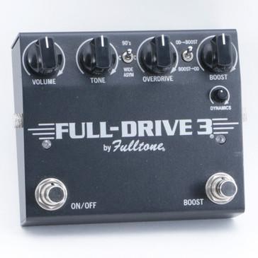 Fulltone Full-Drive 3 Overdrive Guitar Effects Pedal P-09230