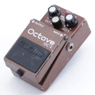 1985 Boss Japan OC-2 Octave Guitar Effects Pedal P-09209