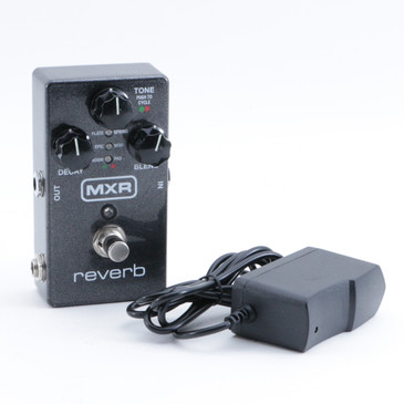 MXR Reverb M300 Guitar Effects Pedal & PSA P-09257